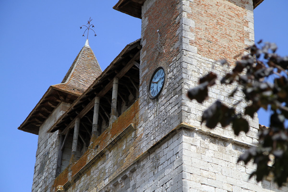 Clocher de l'Eglise de Monflanquin en Lot-et-Garonne - BAT47