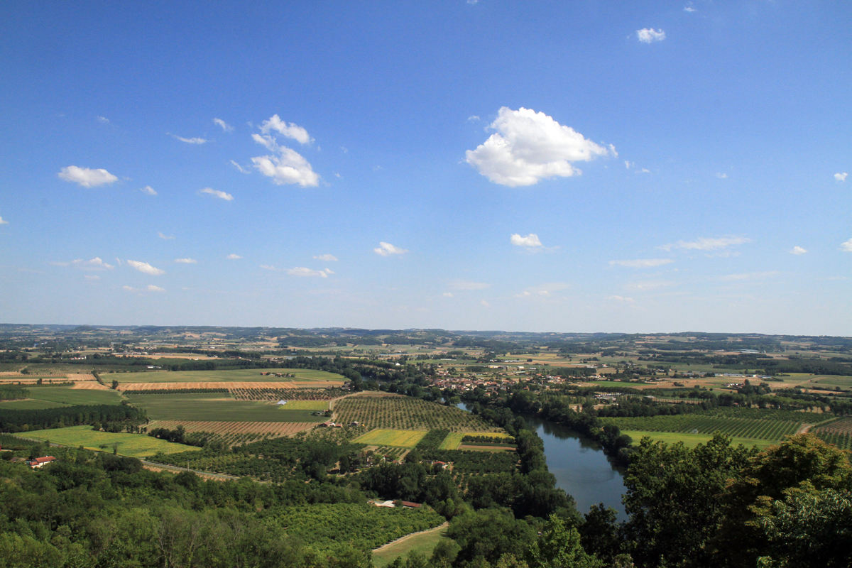 point de vue de Laparade en Lot-et-Garonne - BAT47